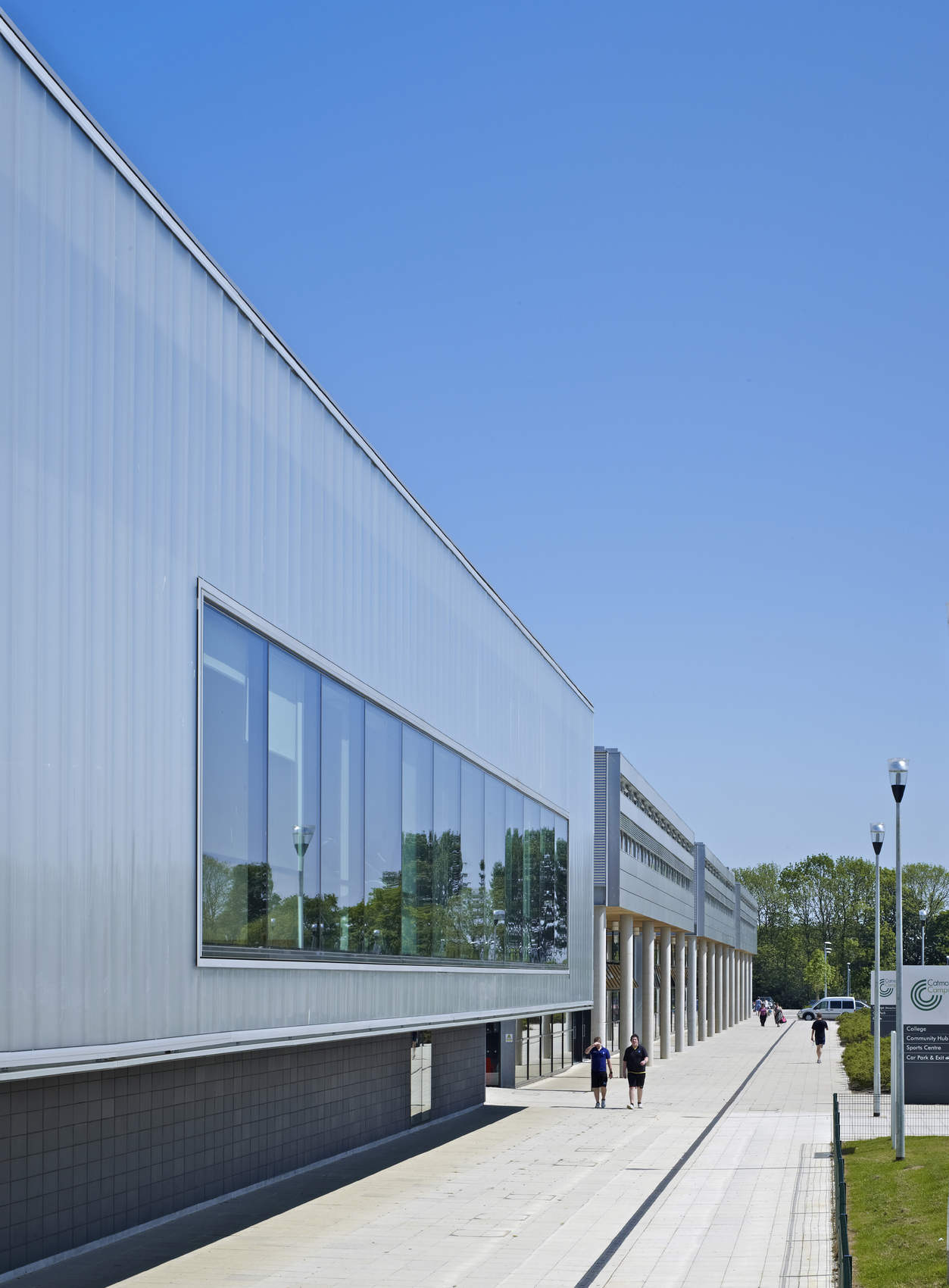 Ellis Miller Achitects Catmose Sports Centre, Oakham