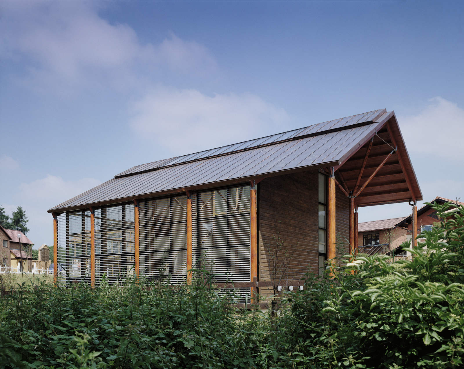 Ellis miller achitects eco house milton keynes