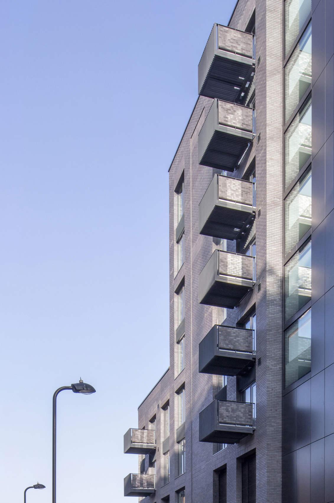 Ellis Miller Achitects King John Court Apartments, London