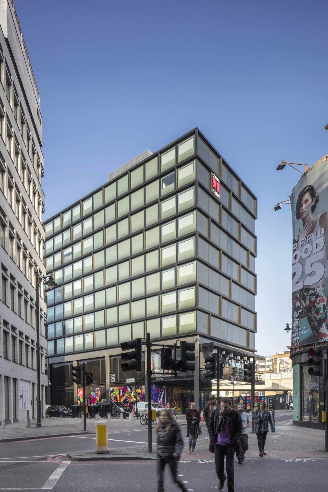 Ellis Miller Achitects citizenM Shoreditch, London