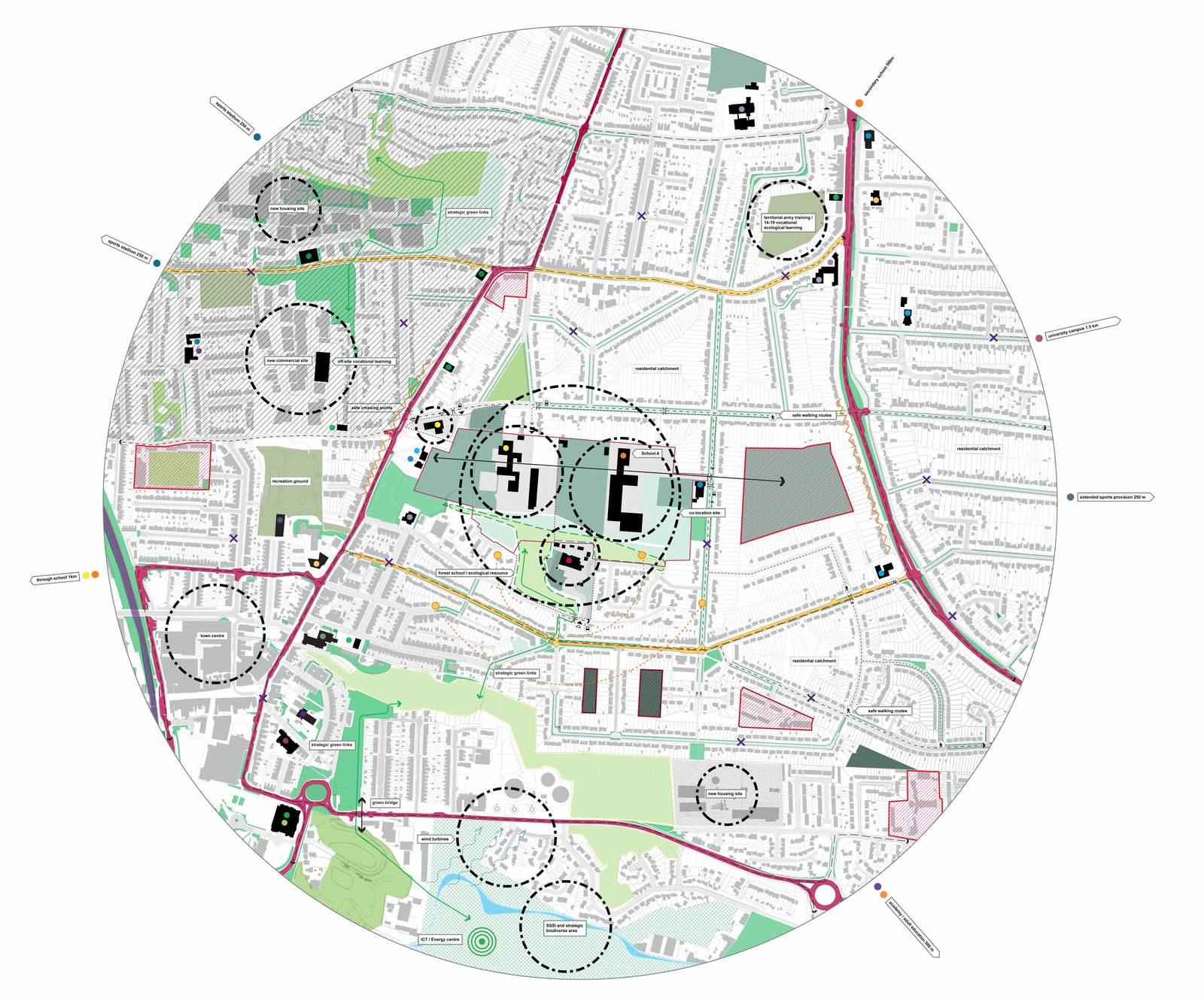 Ellis Miller Achitects Exemplar Spatial Plans, CABE