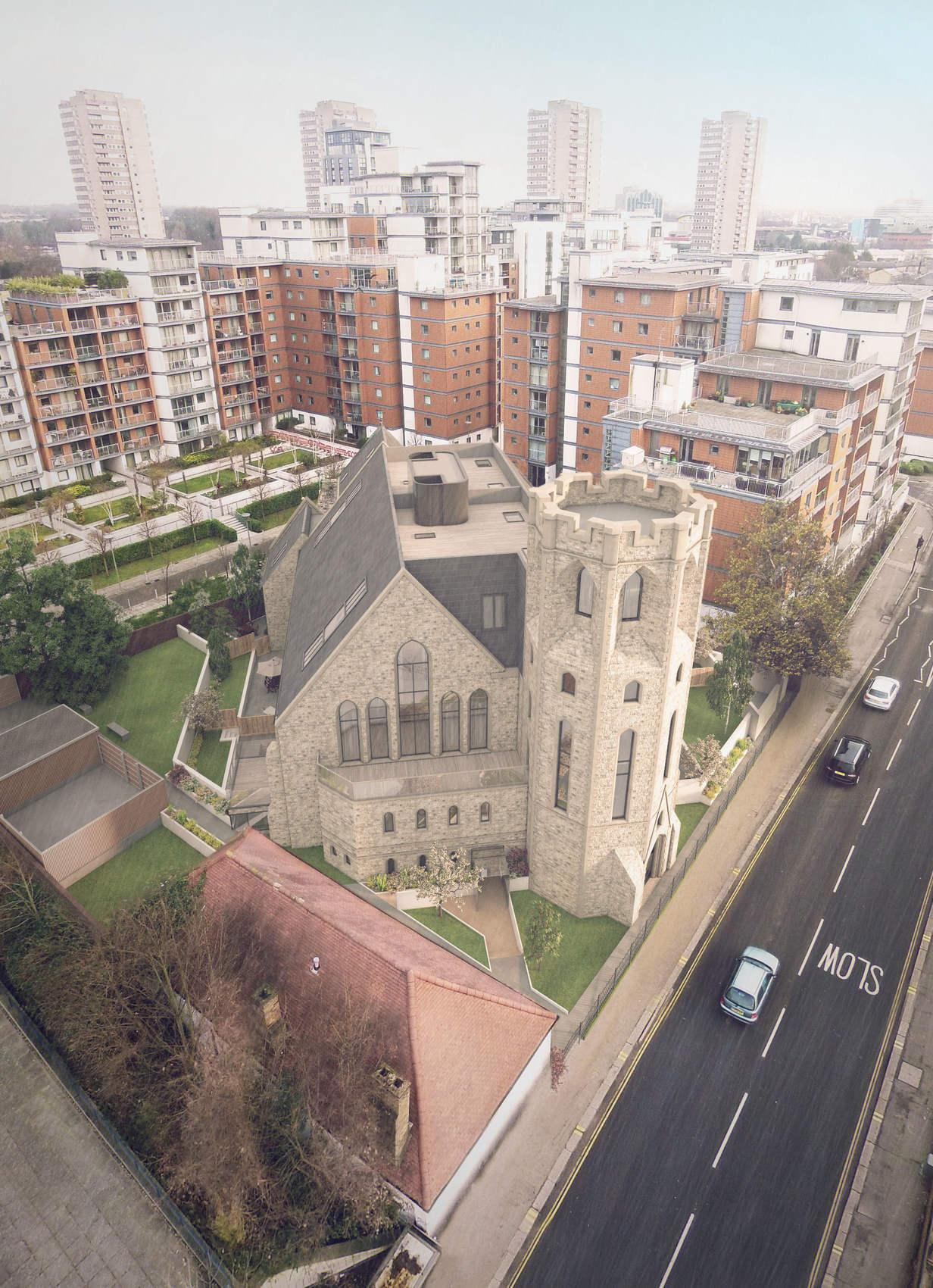 Ellis Miller Achitects St Georges Church, Kew