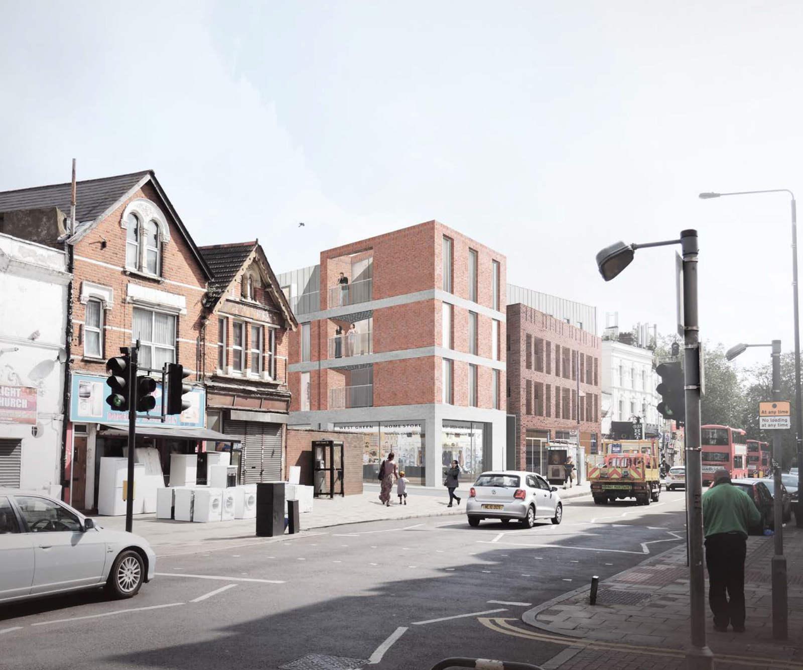 Ellis Miller Achitects West Green Road, London