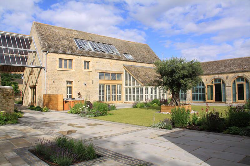 Ellis Miller Achitects Compass Barns, Ufford