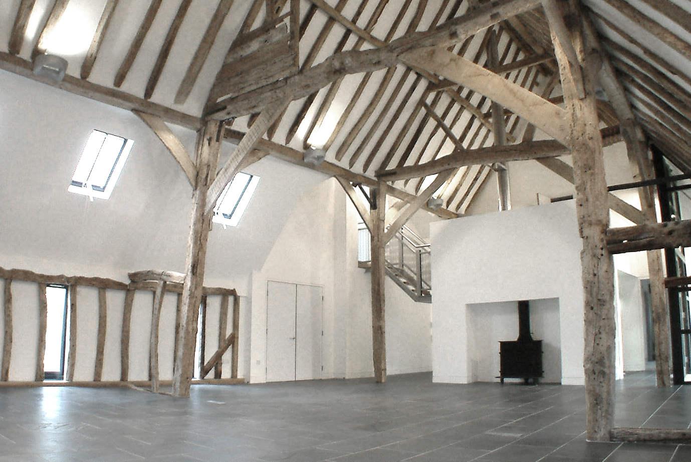 Ellis Miller Achitects Sandon Barns, Hertsfordshire