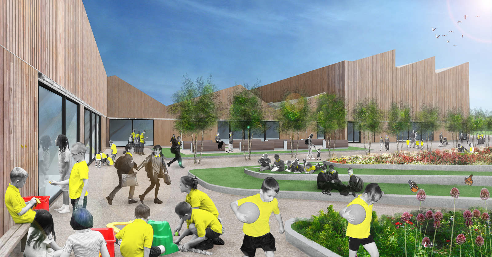 Ellis Miller Achitects Uppingham Primary Pathfinder and Children's Centre, Rutland