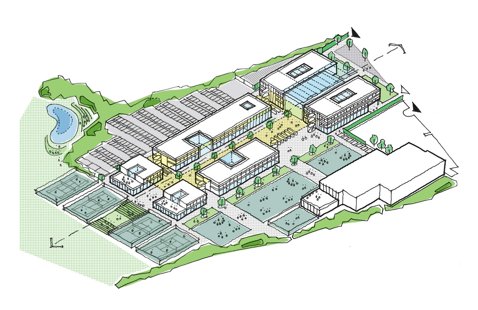 Ellis Miller Achitects Transforming Rotherham Learning, Rotherham